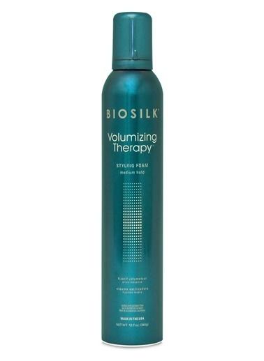 Biosilk Biosilk Volumizing Therapy Orta Tutucu Saç Şekillendirici Köpük 360 Gr Renksiz